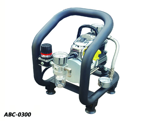 Mini Air Brush Compressor - Deluxe